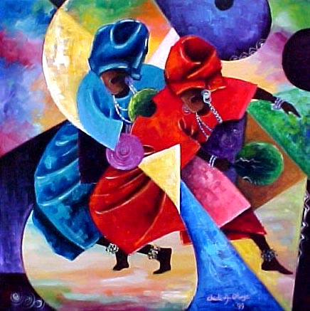 "Joyful Movement 2"" by Chidi Okoye"