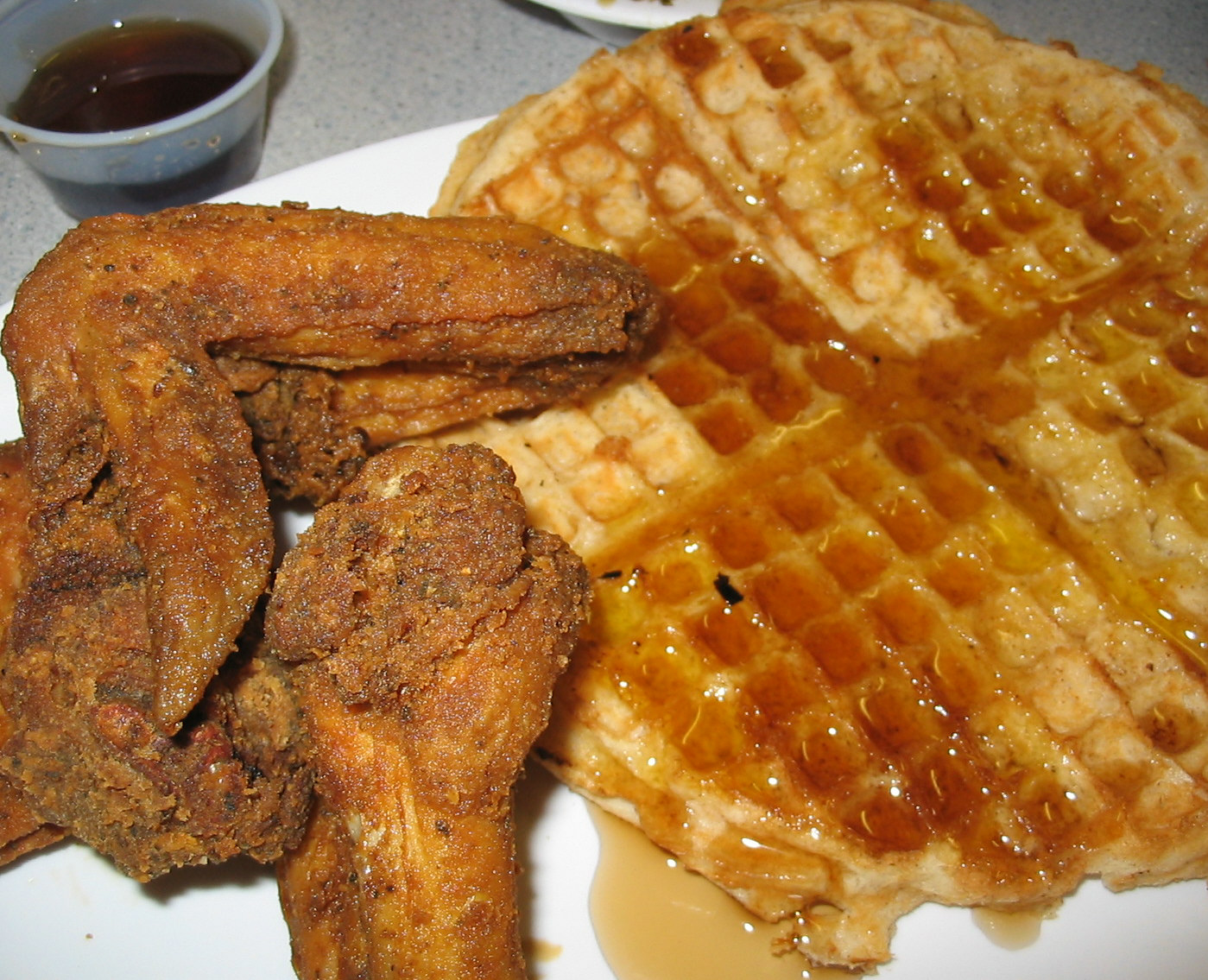 Fried Chicken And Waffles: The BOX: Is Serving Fried Chicken And Waffles On MLK Jr