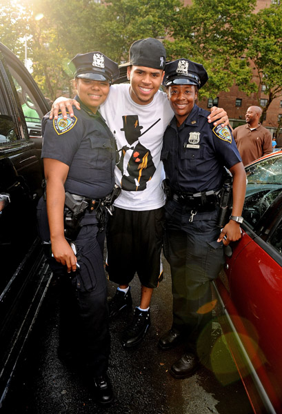 Chris Brown at Rucker's (Photos: Shameless Hype)