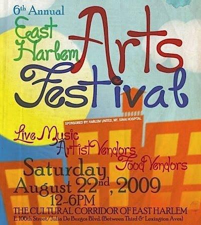 eastharlemartsfestival