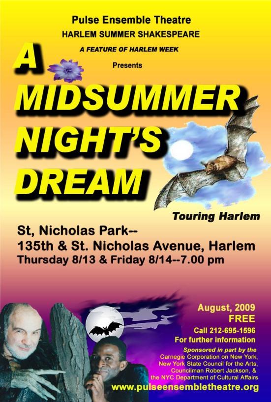 Flyer.MidsummerNightsDream