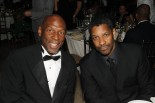 Geoffrey Canada and Denzel Washington (photo credit: Andrew H. Walker/Getty Images North America)