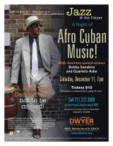 Afro Cuban Music at the Dwyer