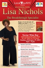 The Secret is out: Lisa Nichols atNectar