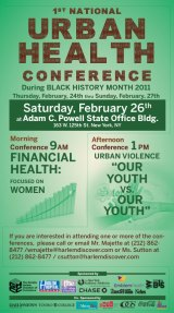 Urban Health Conference in Harlem