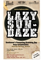 Lazy Sundaze Gentleman's Pampering and Grooming Day