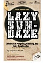 Lazy Sundaze Gentleman's Pampering and GroomingDay