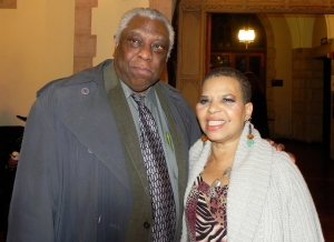 Woodie King Jr. and Ntozake Shange
