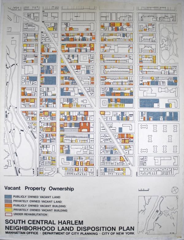 Vacant Land In Harlem Pregentrification UPTOWNflavor - Us map harlem