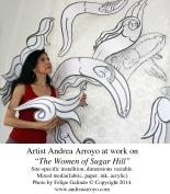 Arroyo-Women of Sugar Hill_Artist At Work-med-