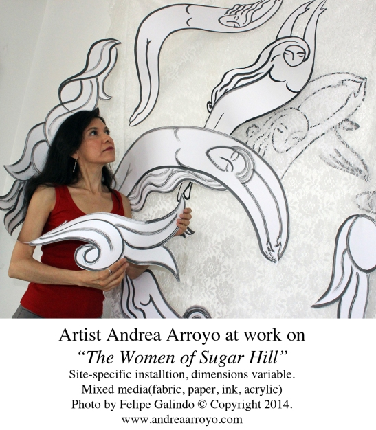 Arroyo-Women of Sugar Hill_Artist At Work-med-
