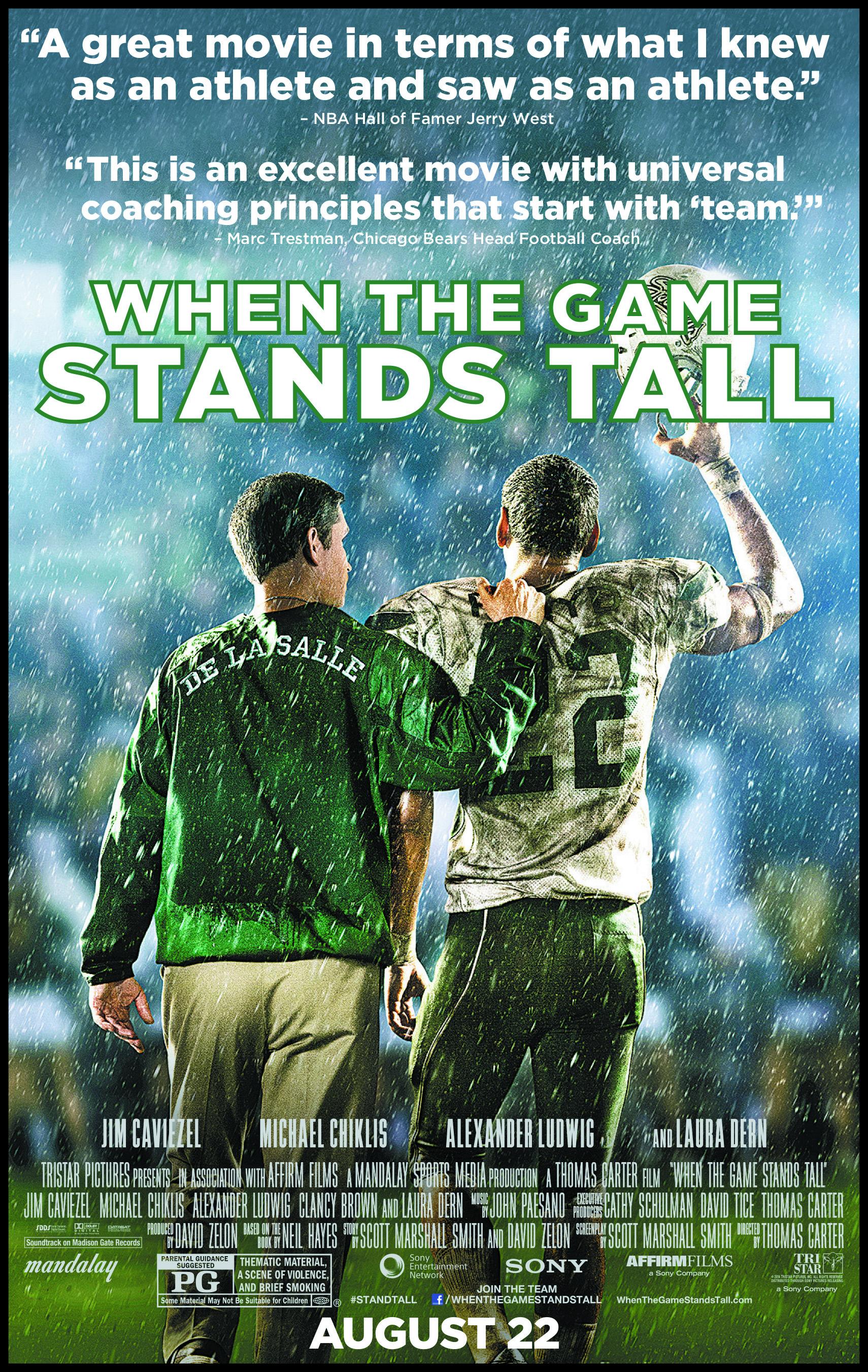 მაღალი დონის თამაში (ქართულად) - When the Game Stands Tall / Игра на высоте (2014)